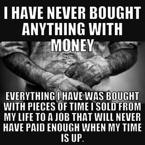 MEME about money and time
