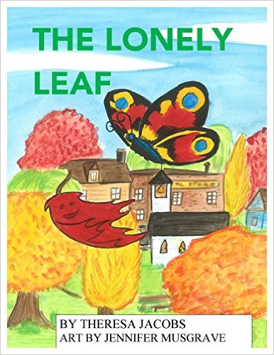 The Lonely Leaf Cover