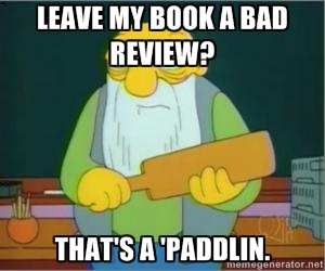 Bad Book Review Meme