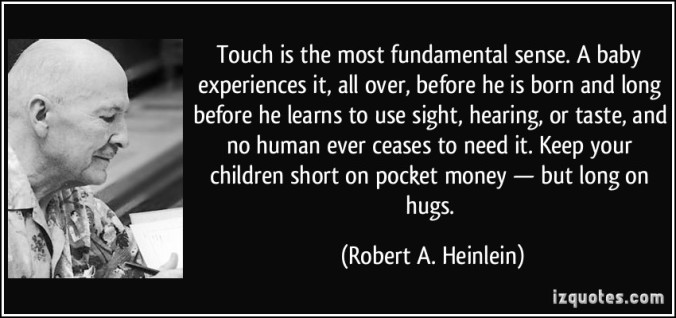 touch quote