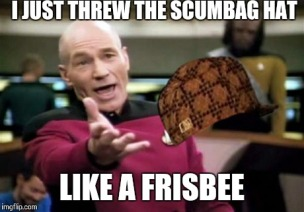 scumbag hat meme