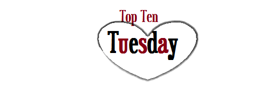 Top Ten Tuesday Heart