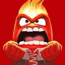 Anger inside out character
