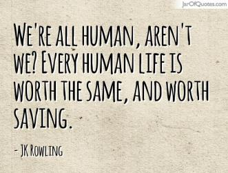 All human quote