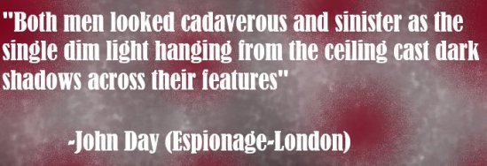 Espionage London Quote 1